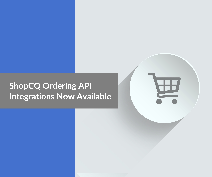 ShopCQ Ordering APIs small